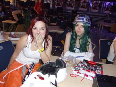 Jaina i R2-D2